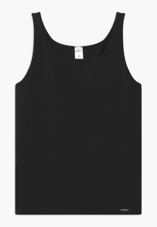 GIRLS 2 PACK - Undershirt - black
