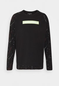 Jack & Jones - JCOSPLASH TEE - Long sleeved top - black - 0