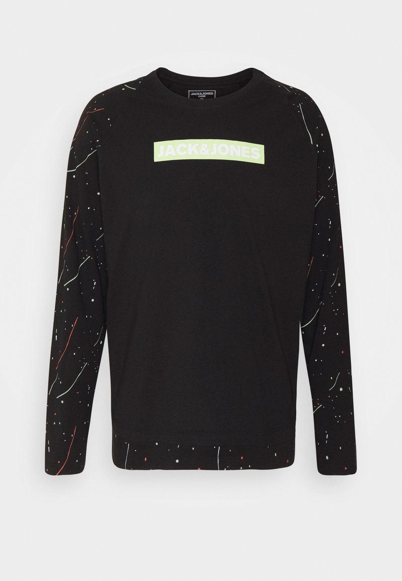 Jack & Jones - JCOSPLASH TEE - Long sleeved top - black