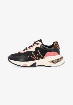 Zapatillas - black/pink/brown
