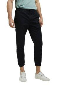 Esprit Collection - FASHION - Tracksuit bottoms - black - 3