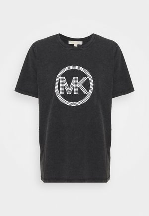 WASH - T-shirts med print - black