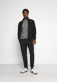 Lacoste - Zip-up hoodie - black - 1
