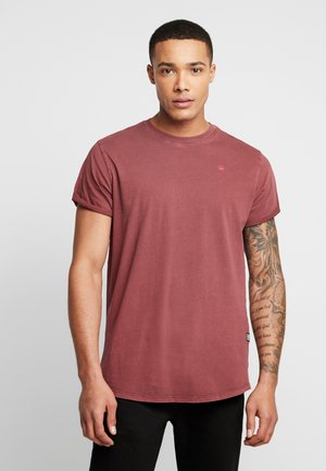 LASH - Basic T-shirt - port red