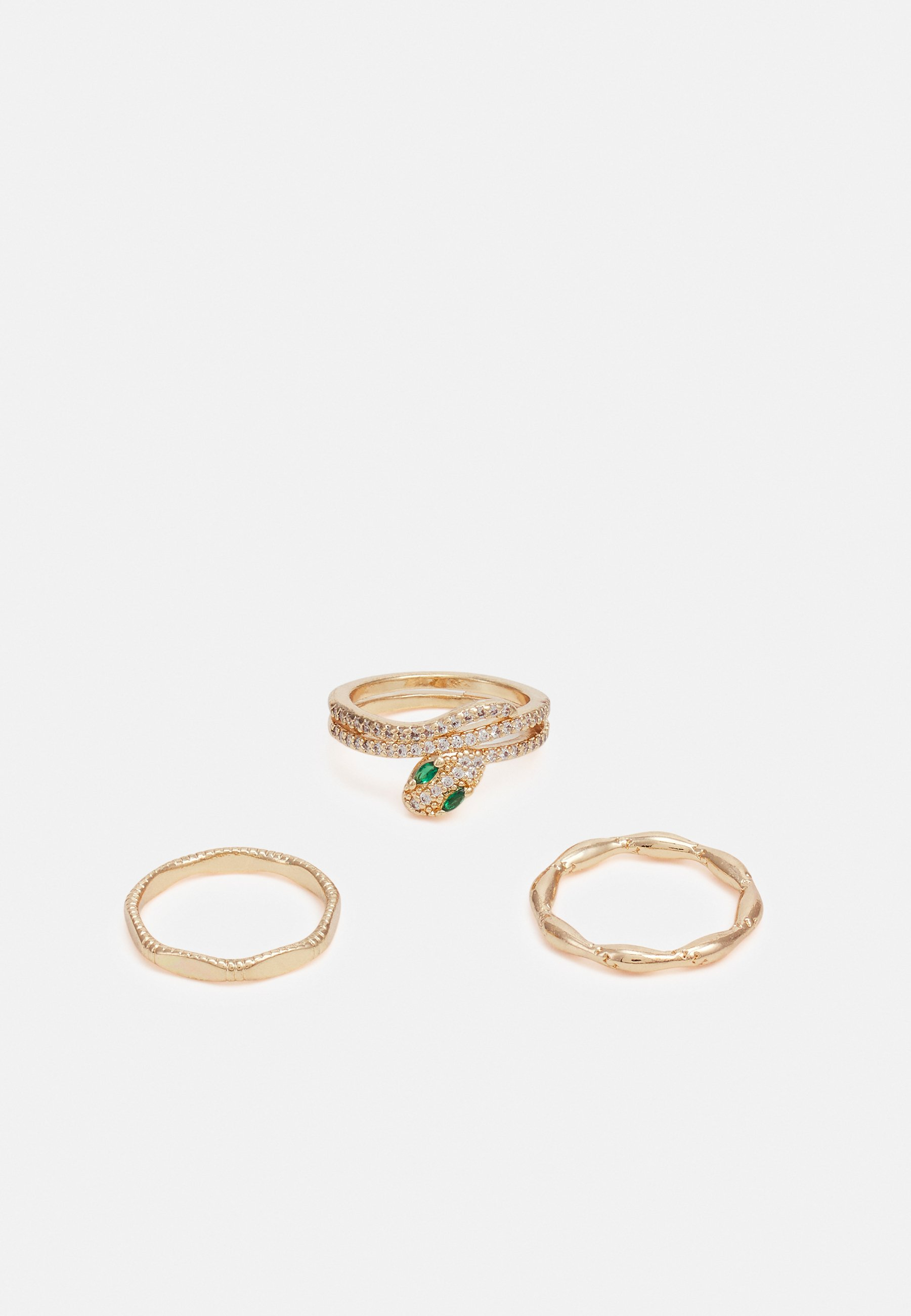 Donna FPPEACE DELICATE SNAKE 3 PACK - Anello