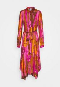 Emily van den Bergh - Skjortekjole - camel/pink - 0