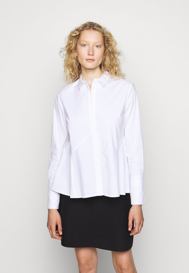 CLEMANDE BLOUSE - Button-down blouse - white