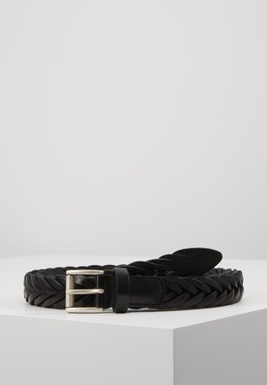 BELT - Braided belt - black