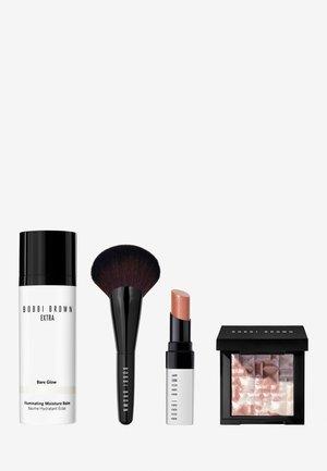 GET GLOWING FACE & LIP SET - Makeup set - -