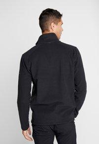 Vaude - MENS ROSEMOOR JACKET - Fleecová bunda - black - 2