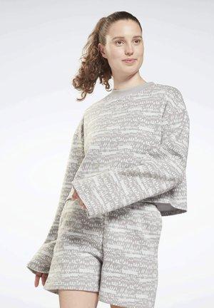 T-shirt à manches longues - grey