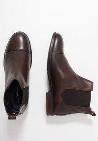 Tommy Hilfiger - DRESS CASUAL TOECAP CHELSEA - Stivaletti - brown - 1