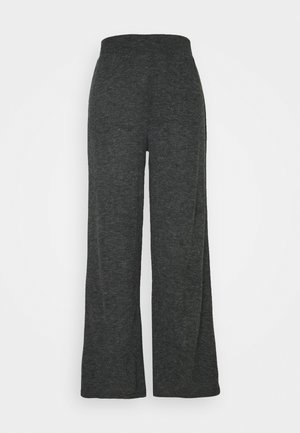 ONLKAYLEE PANTS - Trousers - dark grey melange