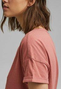 Esprit - Basic T-shirt - blush - 5