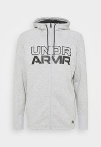 Under Armour - BASELINE FULL ZIP HOODIE - Hættetrøjer - mod gray full heather - 4
