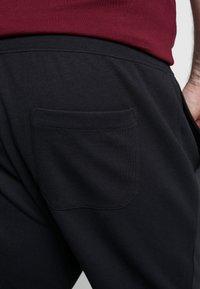 Polo Ralph Lauren Big & Tall - DOUBLE KNIT TECH - Tracksuit bottoms - polo black - 3