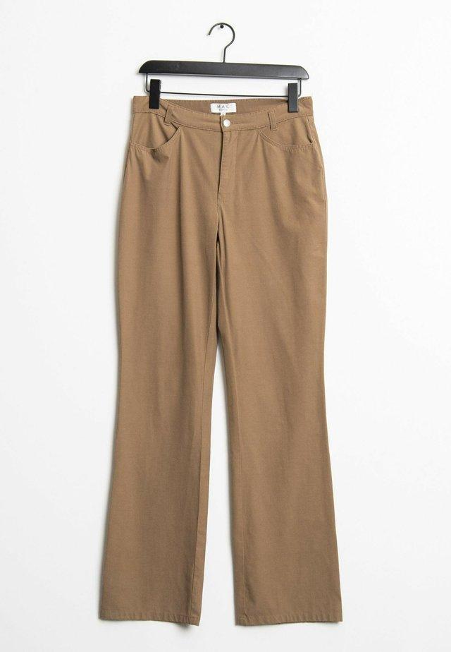 Straight leg jeans - brown