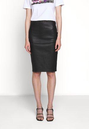 FLORIDIA - Falda de tubo - black