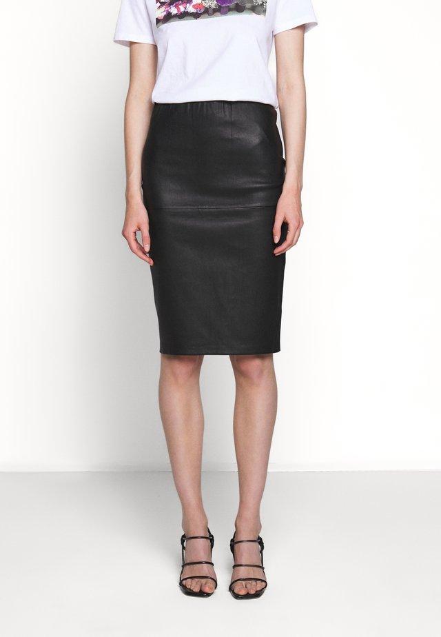 FLORIDIA - Pouzdrová sukně - black
