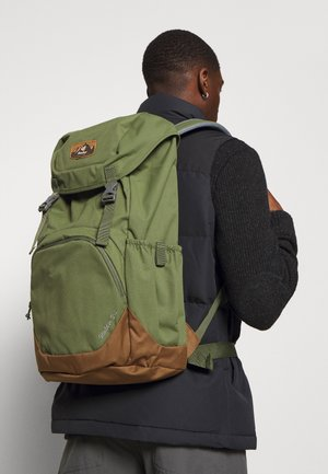 WALKER UNISEX - Hiking rucksack - khaki/lion