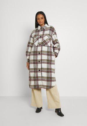 OBJSELENE LONG COAT - Classic coat - cloud dancer