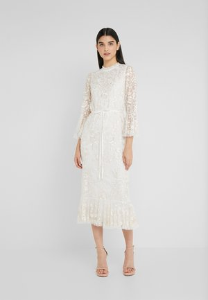 DEMETRIA MIDAXI DRESS - Ballkjole - ivory