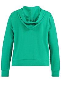 Samoon - Zip-up sweatshirt - electric green - 5