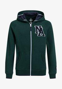 WE Fashion - Zip-up hoodie - dark green - 0