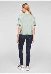 Q/S designed by - Basic T-shirt - mint - 2