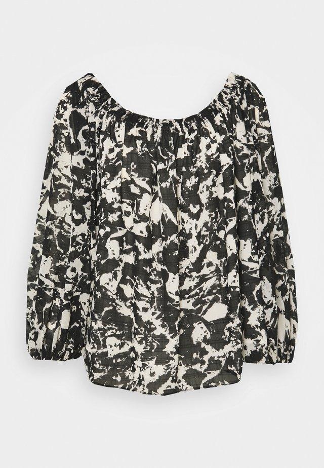 LILIAN WAYFARER - Bluzka z długim rękawem - black