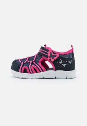 K-BUTTY - Sandals - dark navy/fandango pink