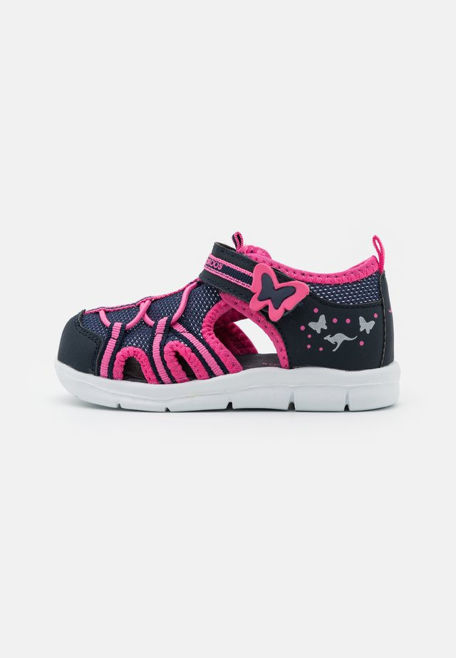 K-BUTTY - Sandalen - dark navy/fandango pink