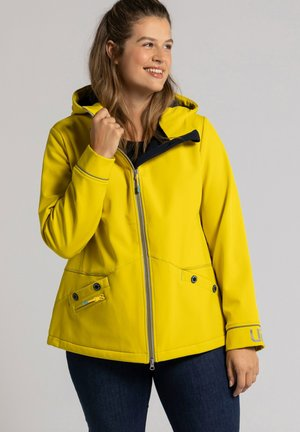Soft shell jacket - königsgelb