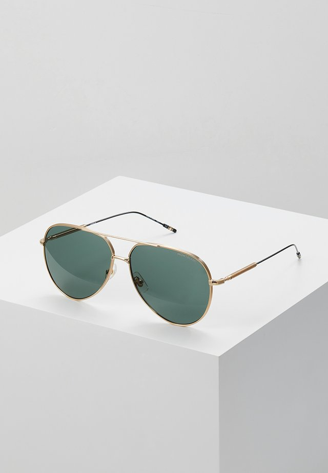 Sonnenbrille - gold-coloured/gold-green