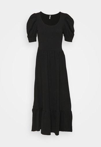 ONLMAY LIFE PUFF DRESS - Jersey dress - black