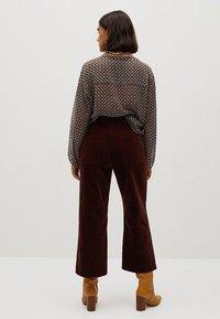 Violeta by Mango - SICILY - Trousers - schokolade - 2