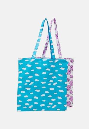 FACY TOTEBAG ZAL 2 PACK  - Shoppingveske - little boy blue/bright white