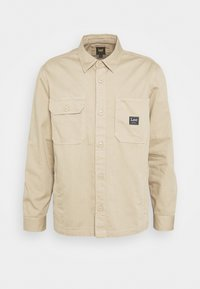 Lee - BOX POCKET OVERSHIRT - Giacca leggera - service sand - 3