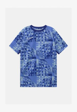 DRY ACADEMY  - Print T-shirt - royal pulse/white