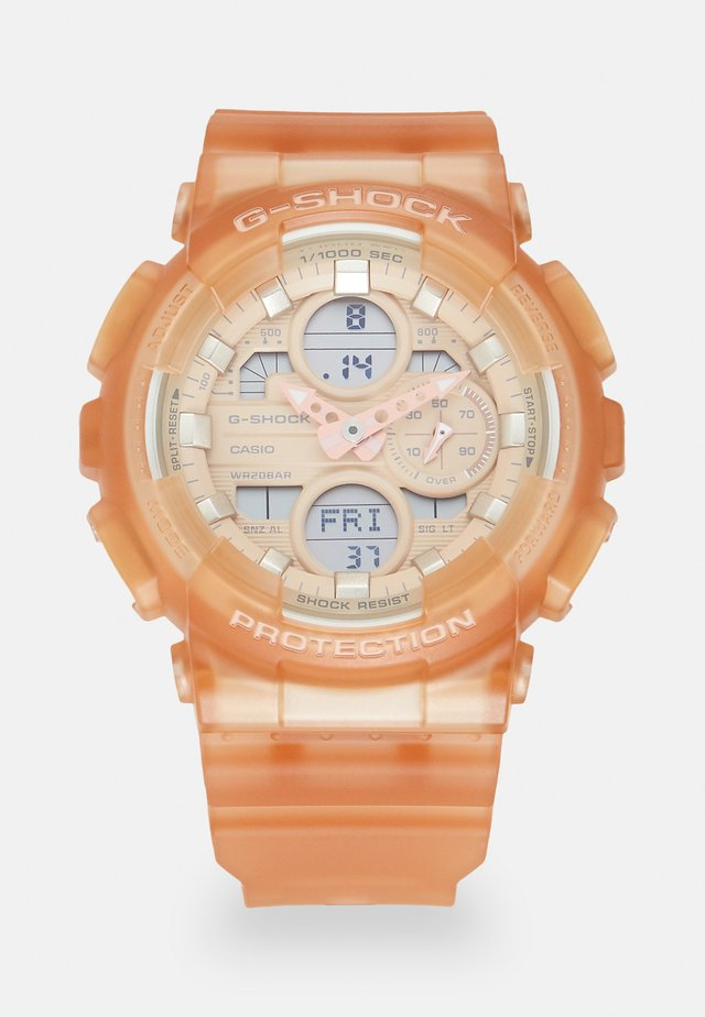 Digital watch - orange