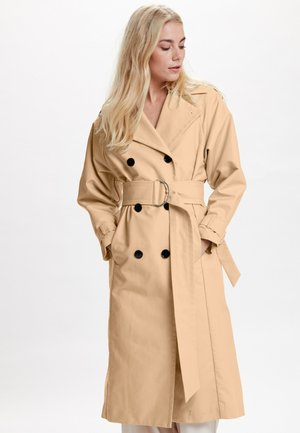 AMBER - Trench - beige
