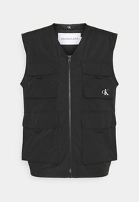 Calvin Klein Jeans - UTILITY VEST - Waistcoat - black - 0