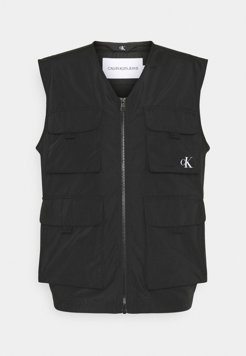 Calvin Klein Jeans - UTILITY VEST - Waistcoat - black