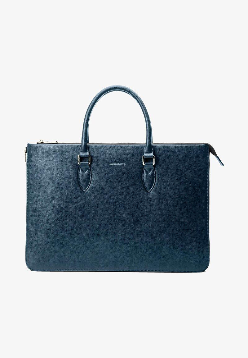 MAVERICK & CO. - Briefcase - blue