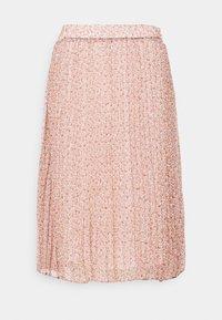 Cream - KINIA SKIRT - A-line skirt - coral - 0