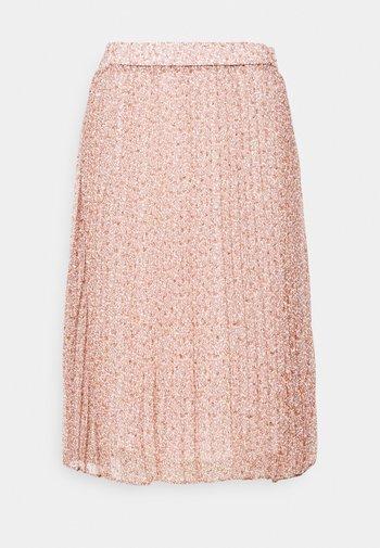 KINIA SKIRT - A-line skirt - coral