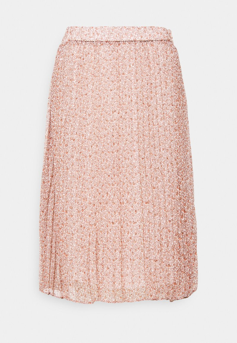 Cream - KINIA SKIRT - A-line skirt - coral