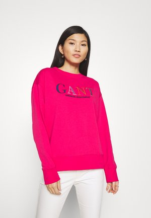 COLOR GRAPHIC C NECK - Sweatshirt - love potion