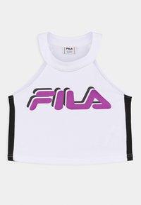 Fila - FIBI CROPPED - Top - bright white/black - 0