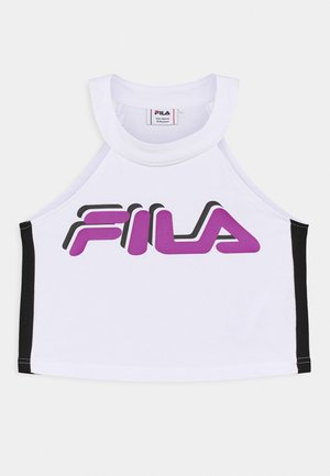 FIBI CROPPED - Top - bright white/black